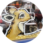 Animals Window Painting